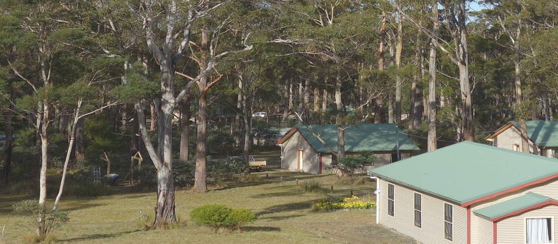 Vipassana Meditation Centre Tasmania compound